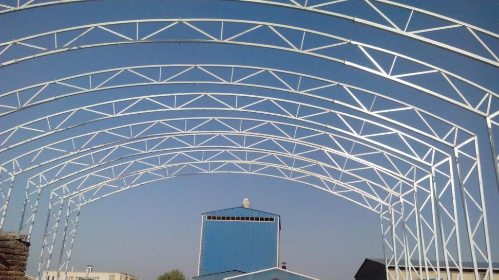 نمونه یک سقف قوسی