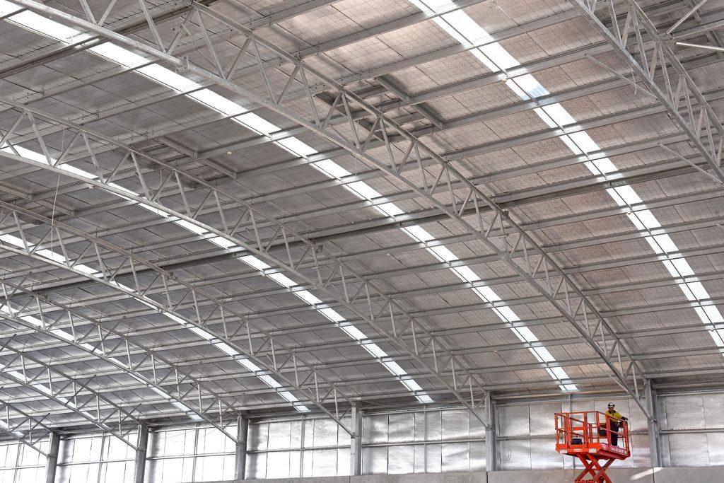 طراحی سقف سوله سبک