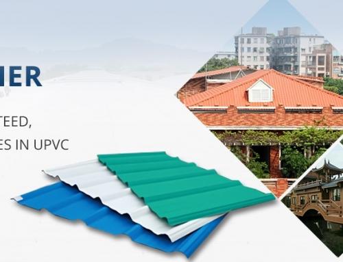 پوشش سقف upvc سوله